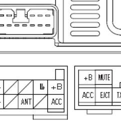 Fujitsu Ten Radio Wiring Diagram York Heat Pump Package Unit Lexus Car Stereo Audio Autoradio Connector Wire Installation Schematic ...