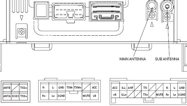 toyota corolla wiring diagram stereo 22re ignition lexus car radio audio autoradio connector wire installation schematic ...