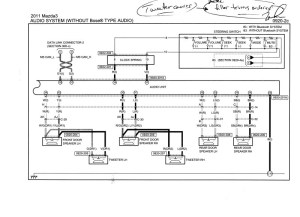 MAZDA Car Radio Stereo Audio Wiring Diagram Autoradio