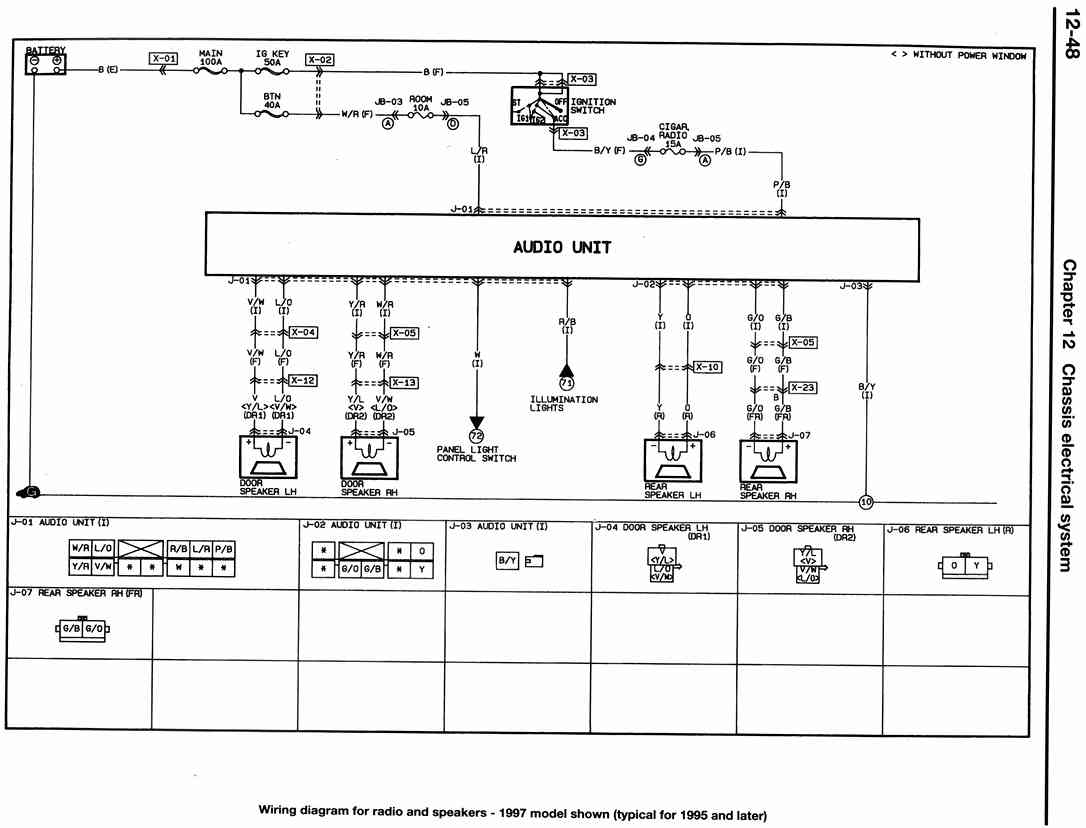 hight resolution of ignition wiring diagram for mazda protege get free image 93 mazda protege stereo wiring 2000 mazda