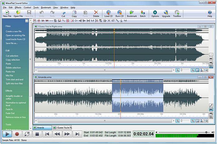 Muziek Editing Software Gratis Download Programma