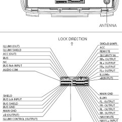Pioneer Mosfet 45wx4 Wiring Diagram Three Way Dimmer Car Radio Stereo Audio Autoradio Connector 3tf0 Fx Mg6006zh Bose Changer Acura