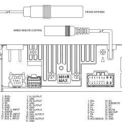 Fiat Ducato Wiring Diagram Chevy Sonic Stereo Pioneer Car Radio Audio Autoradio Connector Wire Installation Schematic ...