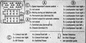 Alpine Radio Diagram  24h schemes