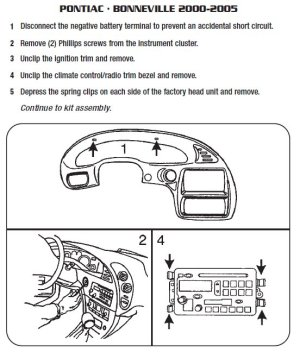 PONTIAC Car Radio Stereo Audio Wiring Diagram Autoradio