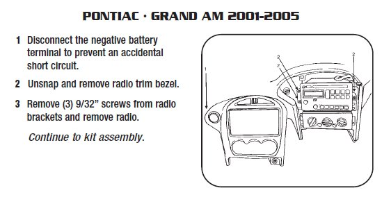 Pontiac grand Am 2001 2005 stereo removal installation 2001 pontiac grand am wiring diagram efcaviation com 2003 pontiac grand prix wiring diagram at bakdesigns.co