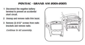 PONTIAC Car Radio Stereo Audio Wiring Diagram Autoradio