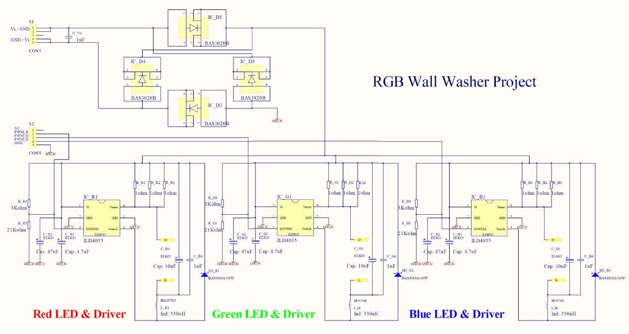 citroen c4 wiring diagram 1995 f150 fuse box rgb led light wall washer circuit