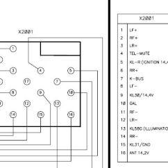 Stereo Wire Diagram Toyota Wiring Acronyms Rover Car Radio Audio Autoradio Connector Installation Schematic Schema Esquema De Conexiones Stecker Konektor Connecteur Cable