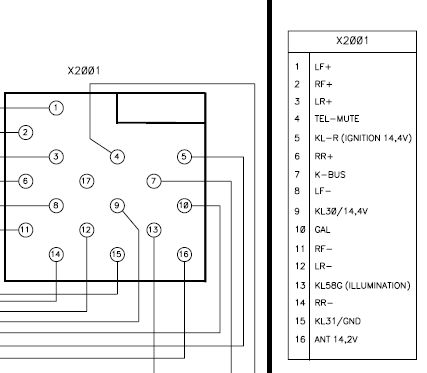 rover 25 wiring diagram 2003 chevy tahoe fuse box blaupunkt car radio stereo audio autoradio connector wire installation schematic ...