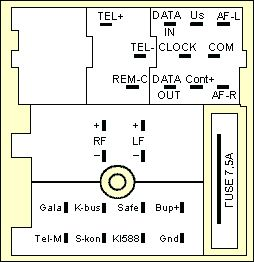 SKODA Car Radio Stereo Audio Wiring Diagram Autoradio