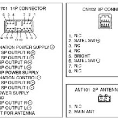 2000 Subaru Forester Stereo Wiring Diagram Basic 12 Volt Boat Car Radio Audio Autoradio Connector Wire Installation Schematic ...