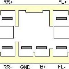 Subaru Forester Stereo Wiring Diagram For Three Way Switch One Light Car Radio Audio Autoradio Connector Wire Installation Schematic ...