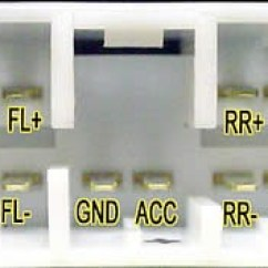 2009 Subaru Forester Radio Wiring Diagram Trailer 7 Wire Car Stereo Audio Autoradio Connector Legacy Lhd