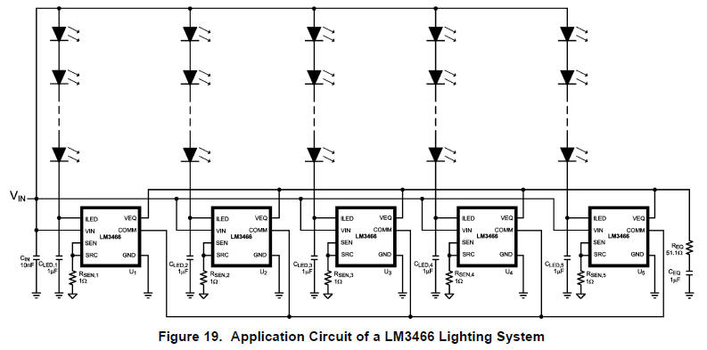 constant current circuit constant current source led