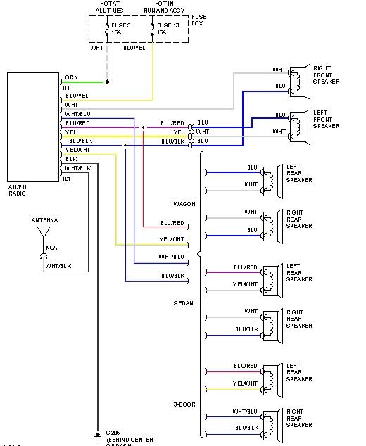 2004 subaru radio wire diagram  description wiring diagrams