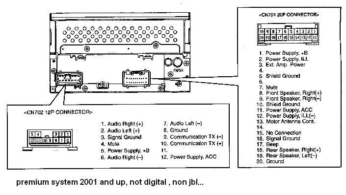 TOYOTA Car Radio Stereo Audio Wiring Diagram Autoradio Connector