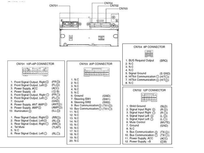 2005 toyota corolla car stereo wiring diagram solar power inverter radio audio autoradio connector wire installation schematic schema esquema de conexiones stecker konektor connecteur cable