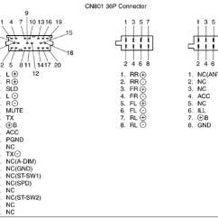 Pioneer Cd Changer Wiring Diagram Honda Lawn Mower Carburetor Toyota Car Radio Stereo Audio Autoradio Connector Wire Installation Schematic ...