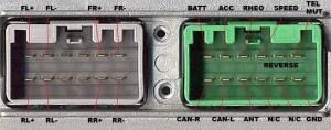 VOLVO Car Radio Stereo Audio Wiring Diagram Autoradio connector wire installation schematic
