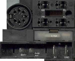 PHILIPS Car Radio Stereo Audio Wiring Diagram Autoradio