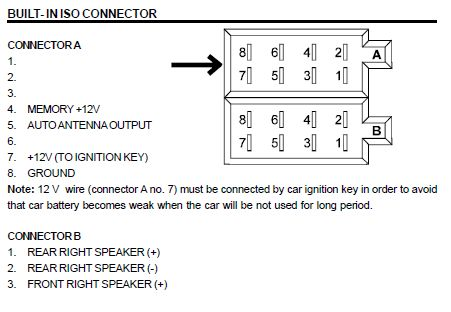 Amplifier Wiring Diagrams For 3 Roadstar Car Radio Stereo Audio Wiring Diagram Autoradio