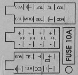 vauxhall vectra stereo wiring diagram 2002 ford taurus rear suspension opel car radio audio autoradio connector wire installation schematic ...