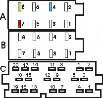 SIEMENS Car Radio Stereo Audio Wiring Diagram Autoradio