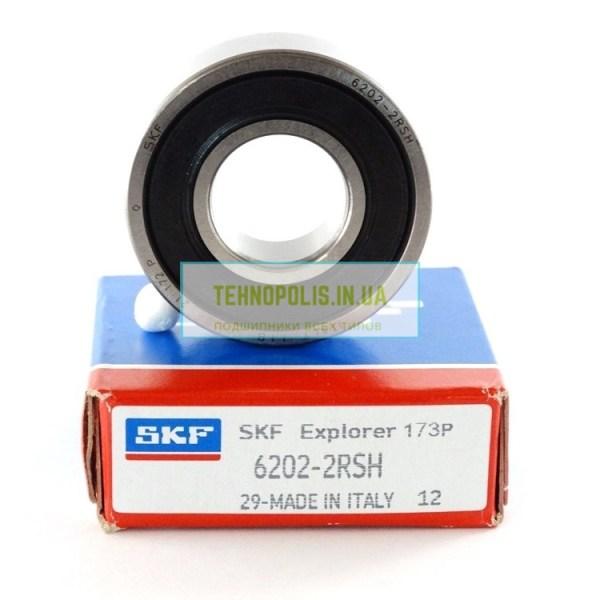 ціна підшипник 6202 2RSH SKF (180202)_