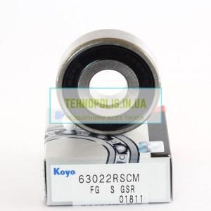 Купити підшипник 180302 (6302 2RSCM) KOYO
