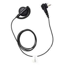1-Wire Ear Hook, Black