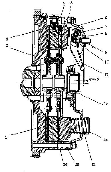 Piese ambreiaj Tractor MTZ-1221 motor D-260
