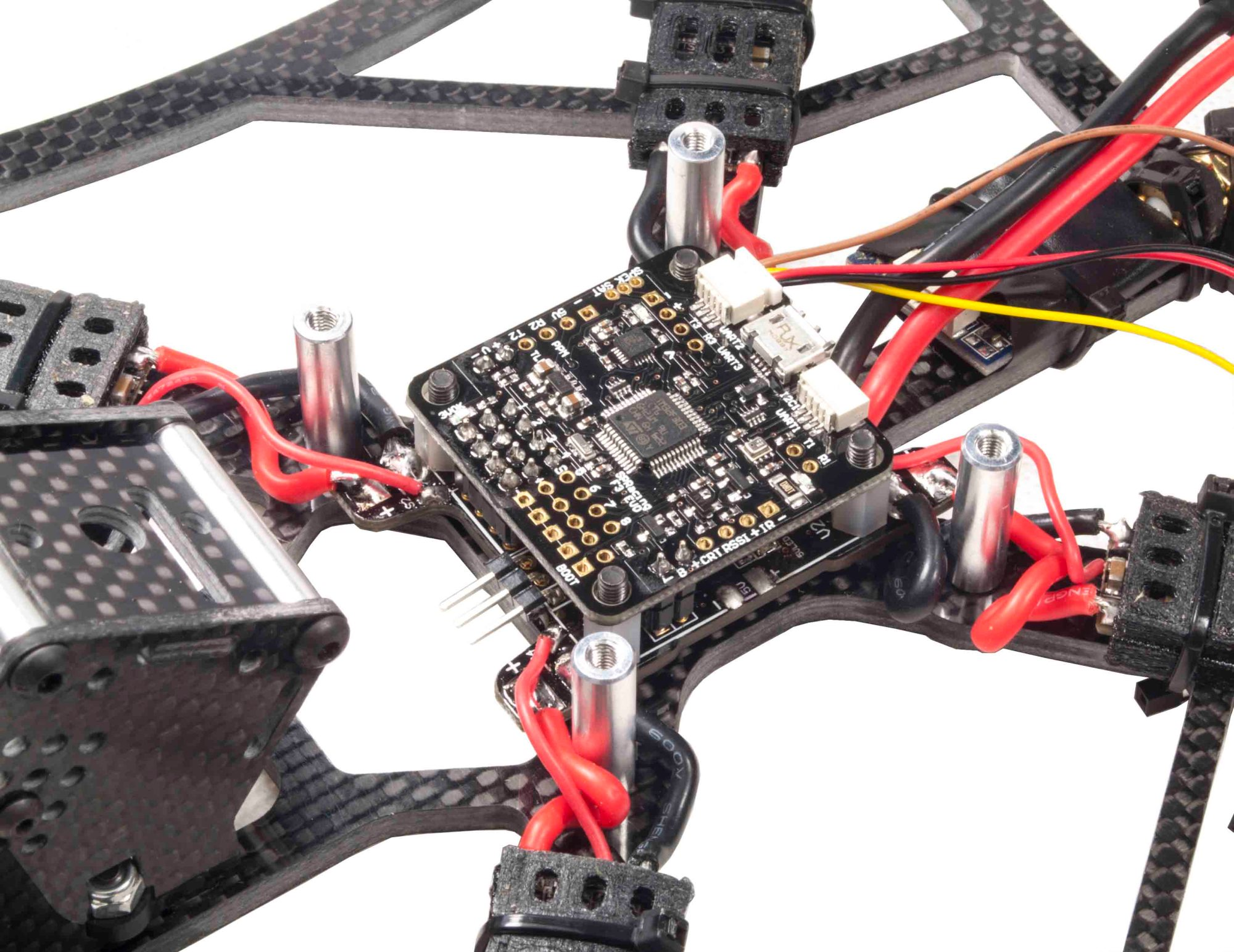 hight resolution of rjx sp racing f3 evo flight controller with pdb power distribution board