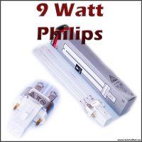 9 Watt UV Lampe PLS Philips