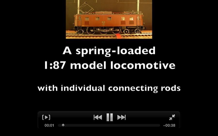 087 fig8 SBB Ae 3/6 II HO-096 by Lemaco. Photo Øyvind Teig (to movies)