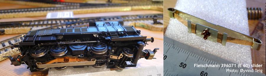 Fleischmann 396071 slider and wheels profile