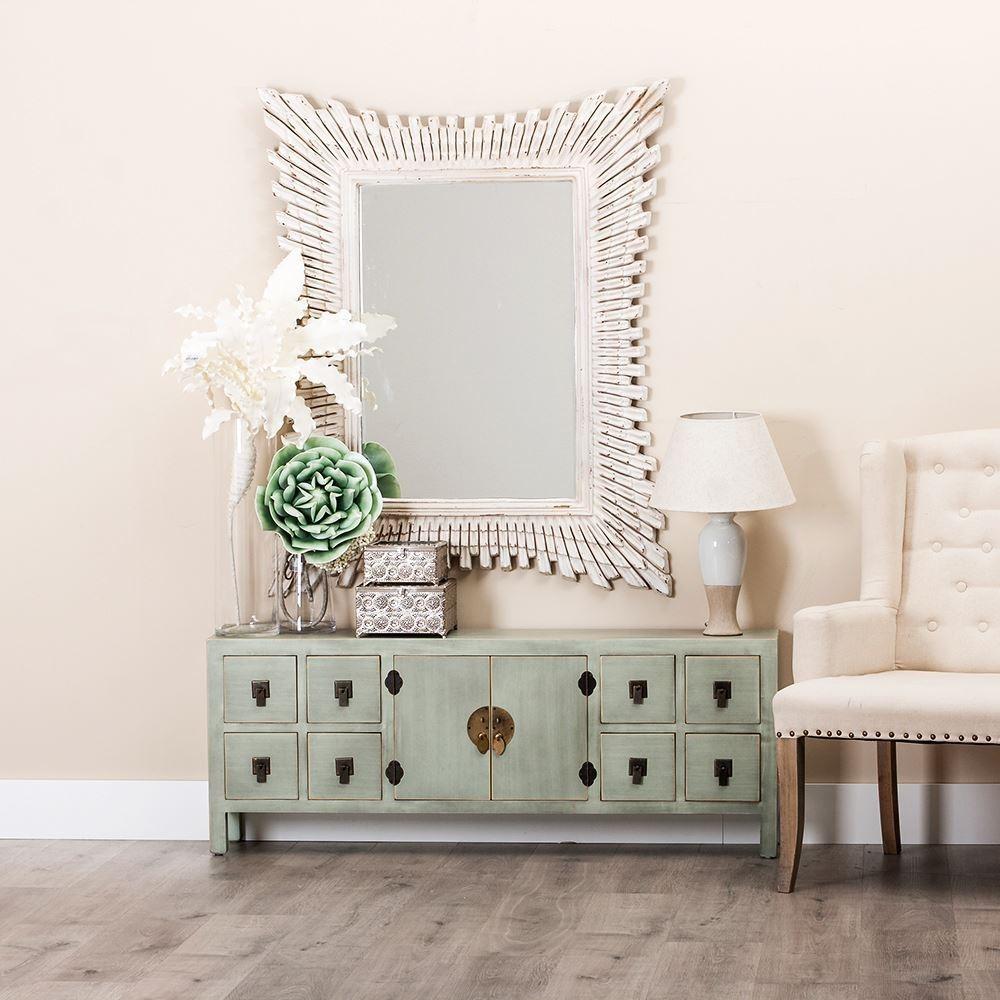Mueble TV Oriental Azul Claro  Te Imaginas