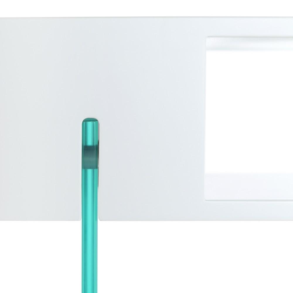 Mueble TV Moderno Blanco Lacado  Te Imaginas