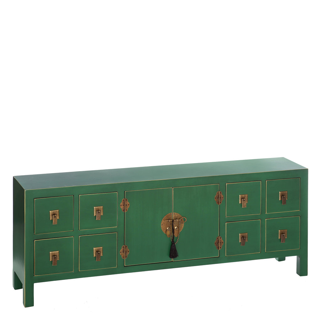 Mueble TV Oriental Verde Barato  Te Imaginas