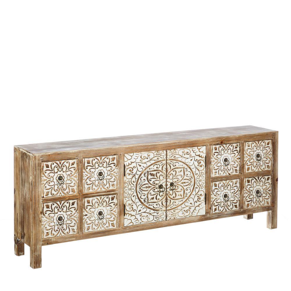 Mueble TV Oriental Natural   Te Imaginas