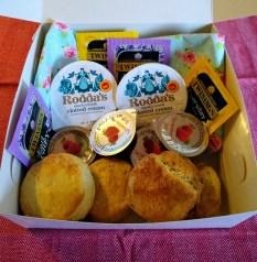 cream tea boxes