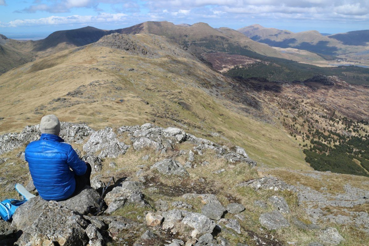 Best Hill Walks in Wales -Moel Hebogd