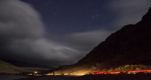 Clouds and car headlights can spoil your stargazing