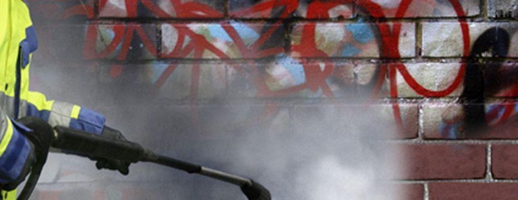 limpieza fachada, limpieza graffiti