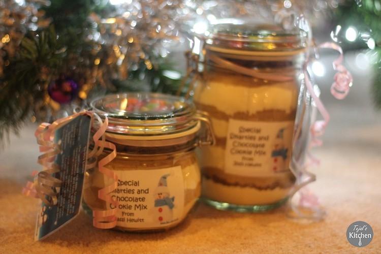 DIY Cookie Mix Jars