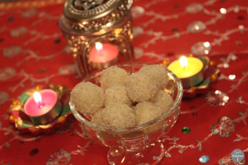 Coconut Ladoo Diwali