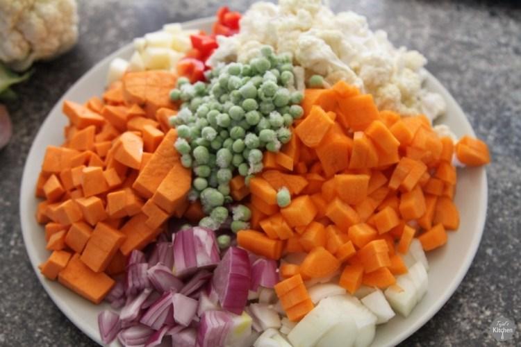 Healthy Pav Bhaji
