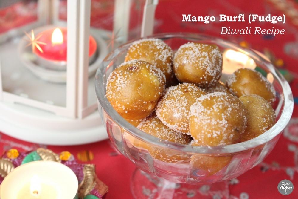 Mango Burfi (Fudge)