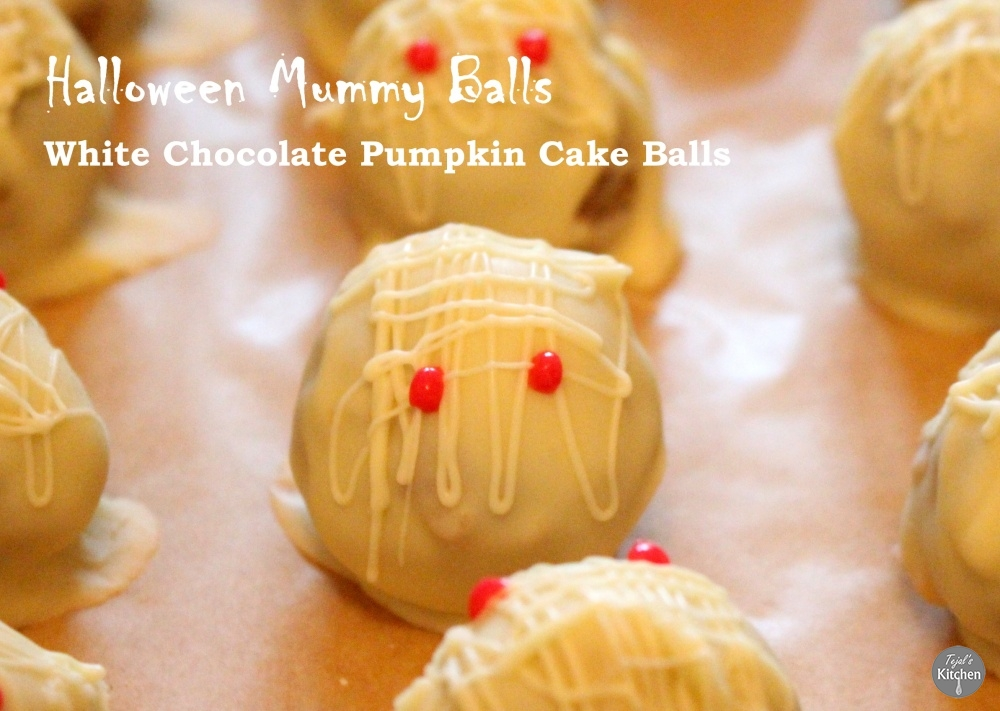 Pumpkin Mummy Balls