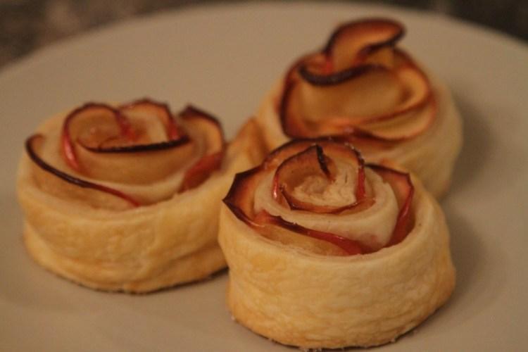 Apple Vegan Roses